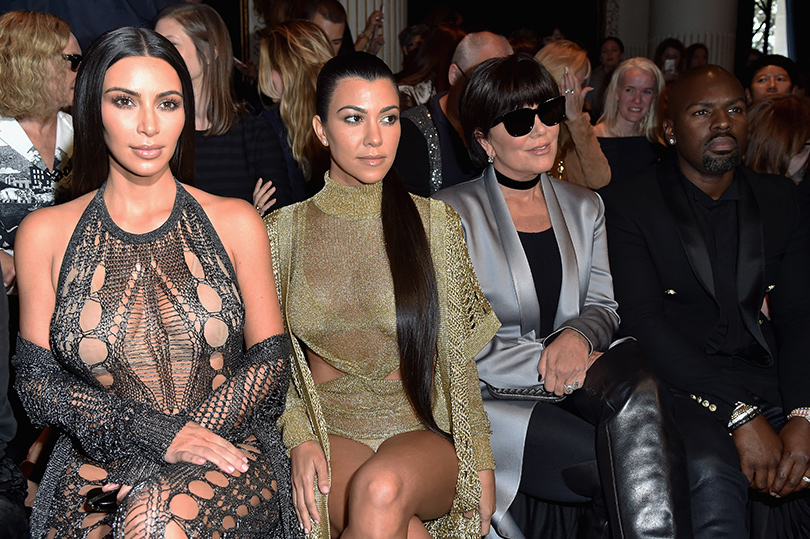 Kim Kardashian Appears To Attend Paris Without Any