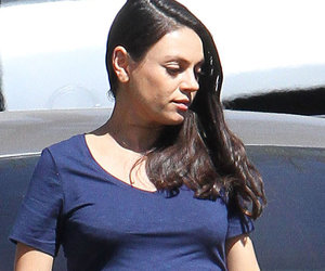 Pregnant Mila Kunis Is All Belly Ahead of Wyatt's 2nd Birthday