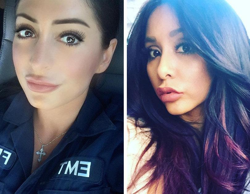u0026quot jersey shore u0026quot  alum angelina pivarnick ignites feud with snooki over lip injections