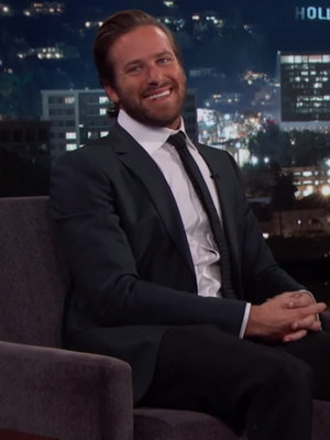 Oops! Armie Hammer Accidentally Reveals Gender of Baby No. 2