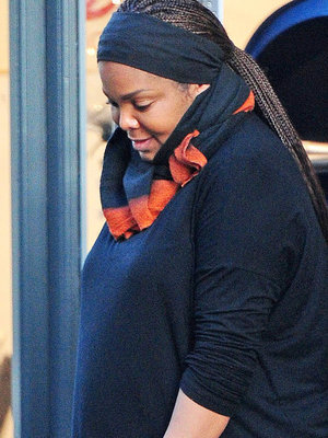 Janet Jackson Spotted for First Time After Baby News