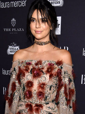 Kendall Jenner Just Got a Lip Tattoo -- See Her New Ink!