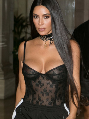 Relive Kim Kardashian's Most Revealing Looks -- Sheer Insanity!