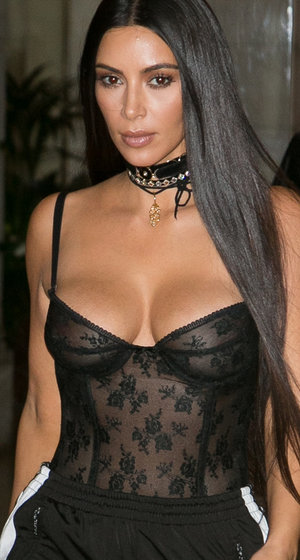 Relive Kim K's Most Revealing Looks -- Sheer Insanity!