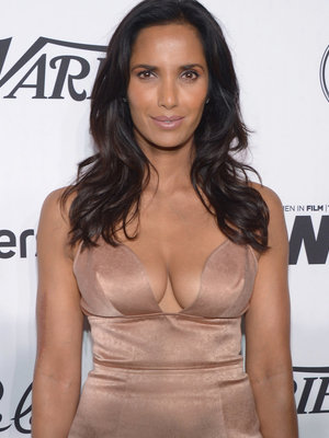 See Padma Lakshmi Strip Down to Lingerie In Sexy Selfie