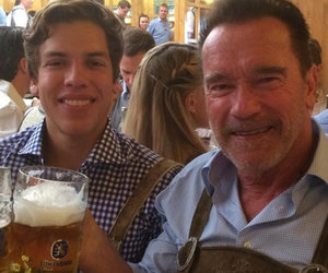 Arnold Celebrates Son's 19th Birthday at Oktoberfest
