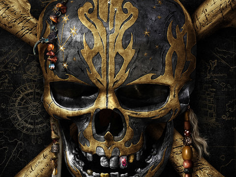 "Johnny Depp MIA from First Trailer for ""Pirates of the Caribbean: Dead Men Tell No Tales"""