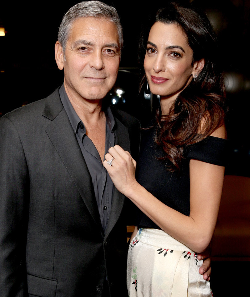 George Clooney's a Dad! Amal Clooney Gives Birth to Twins