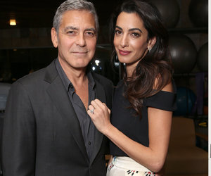 "George Clooney Dishes on His ""Civilized"" Anniversary Celebration with Amal"