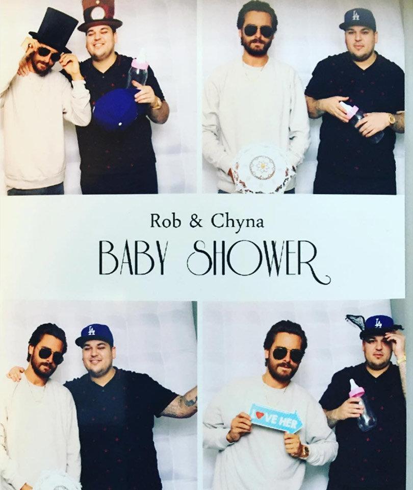 inside rob kardashian blac chyna 39 s joint baby shower
