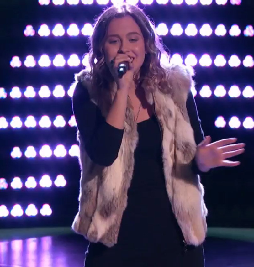 """Candace Cameron Bure's Daughter Natasha Auditions for """"The Voice"""" ... and Crushes It!"""