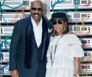 Steve Harvey's Daughter Joins Him & Wife at PFW -- She's Stunning!