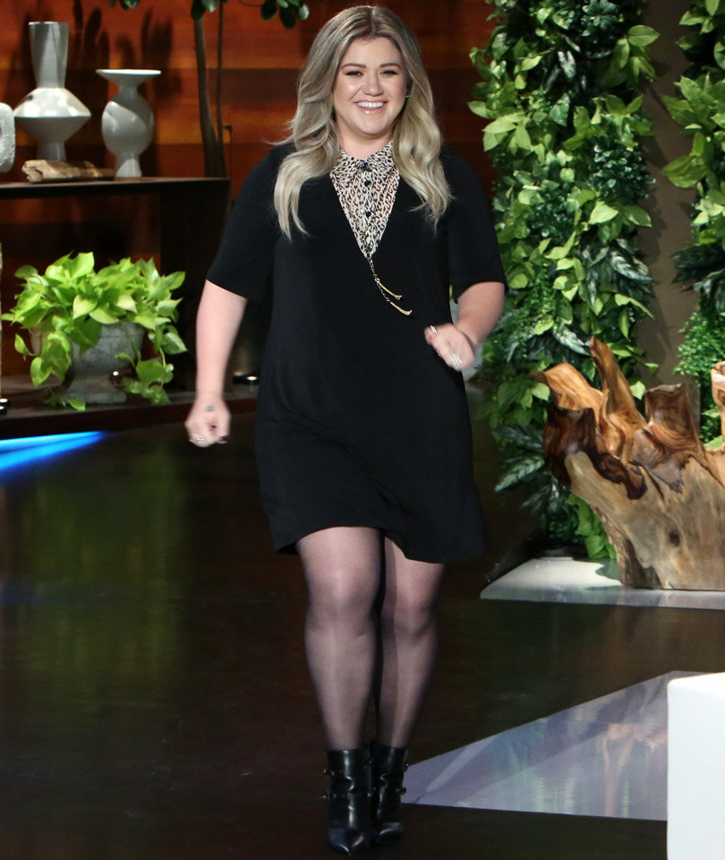 Kelly Clarkson Talks About That Time She Ghosted Her Date IRL--Watch Now!
