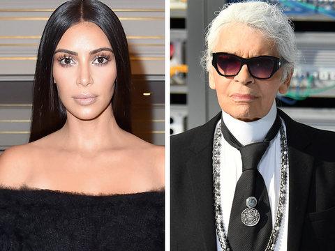 Karl Lagerfeld Just Victim Blamed Kim for Jewelry Robbery