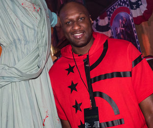 Lamar Odom Resurfaces for Halloween at Universal Horror Nights