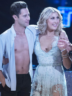 """DWTS"" Duo Gets Engaged on Live TV -- See Proposal!"