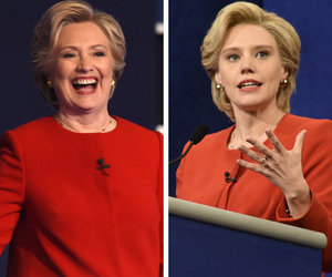 "Clinton Sounds Off on ""SNL"" Spoof of Presidential Debates"