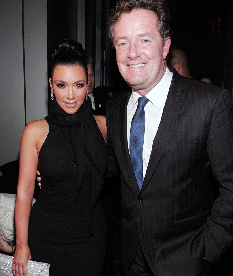 Piers Morgan Says Kim Kardashian's Robbery Should Serve as a Wakeup Call