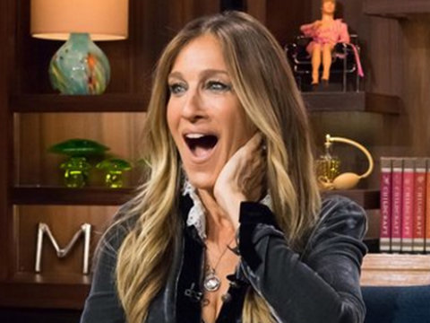 SJP Gets Grilled About Kissing JFK Jr. -- See Awkward Moment