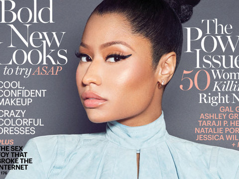 Nicki Minaj Shades Sharon Osbourne, Reveals Secret to Her Success
