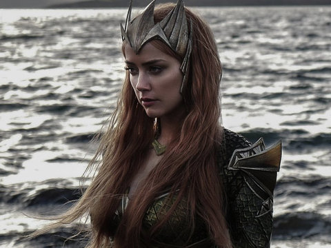 "See First Pic of Amber Heard as Mera For ""Justice League"""