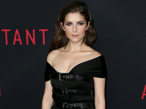 "Anna Kendrick Says Her First Movie Kiss Was ""Pretty Creepy"""