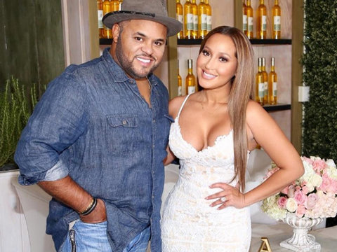 "Adrienne Bailon Says ""I Do"" -- Get All the Wedding Details!"