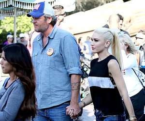 Gwen & Blake Visit Disney & Her Childhood Home