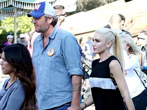 Gwen & Blake Visit Disney & Her Childhood Home