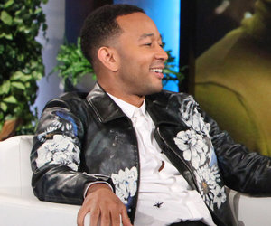 "Proud Papa John Legend Talks ""Chill"" Baby Luna -- Watch Now!"