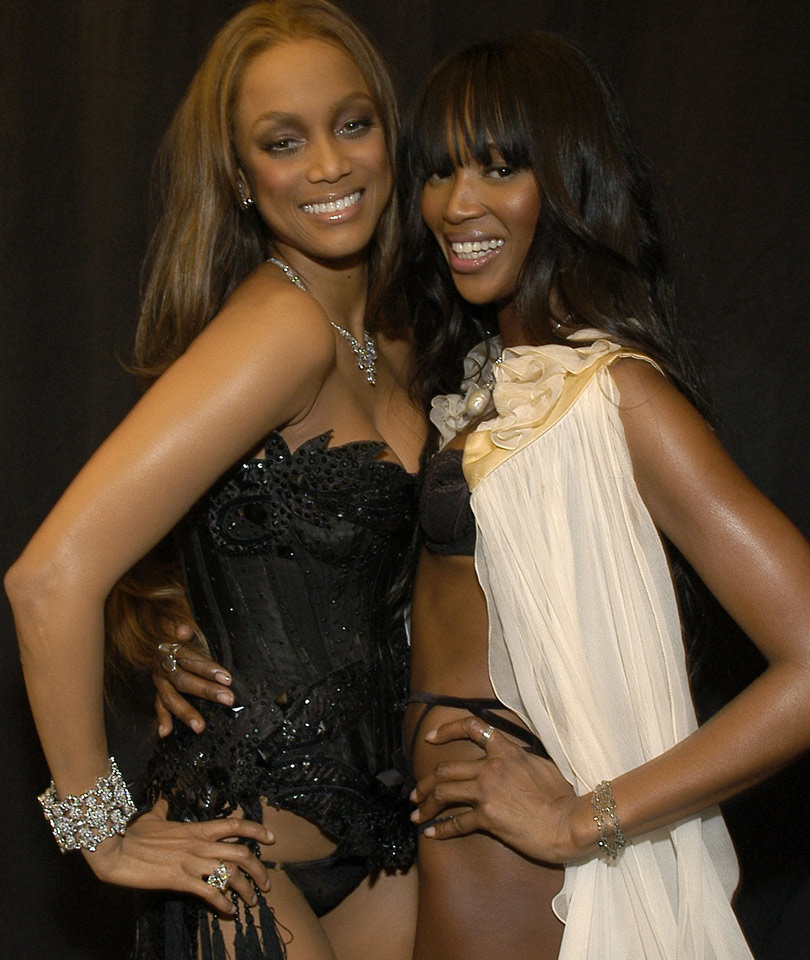 "Tyra Banks Still ""Very Scared"" of Naomi Campbell After Brutal '90s Feud"