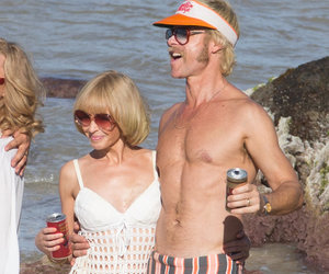 Kylie Minogue & Guy Pearce Take Us Back in Time In Retro Swimwear