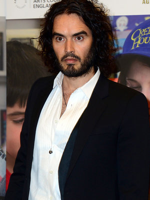 "Russell Brand Says He's ""Very Excited About Becoming a Dad"""
