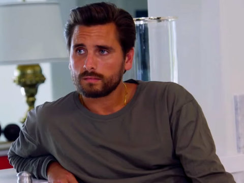 """Worried"" Khloe Kardashian Tries to Convince Scott Disick to Give Up Partying Ways"