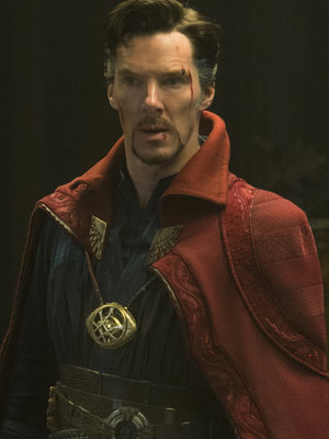 """Benedict Cumberbatch Was """"Giddy Like a Kid on Halloween"""" Trying On """"Doctor Strange"""" Costume"""