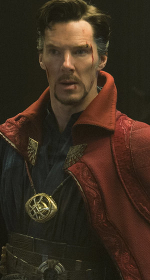 "Benedict Cumberbatch Was ""Giddy Like a Kid on Halloween"" Trying On ""Doctor Strange"" Costume"