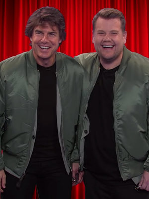 Cruise Recreates Most Iconic Film Roles with James Corden