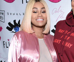 Blac Chyna Supports Amber Rose, Flaunts Bump In See-Through Top