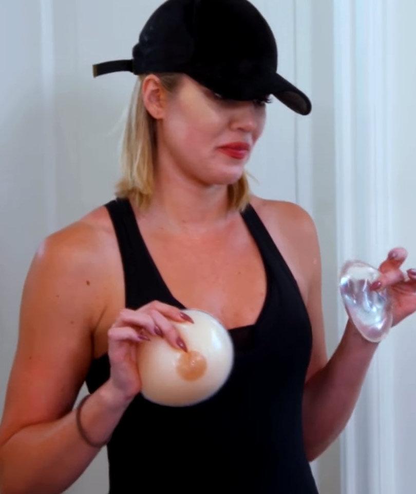 Khloe Kardashian Considers a Boob Job -- Just How Big Would She Go?