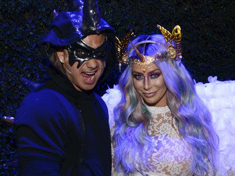 Aubrey & Pauly, Tara Reid Attend Maxim Halloween Bash