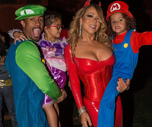 See Inside Mariah's Halloween Party w/ Nick & the Twins!