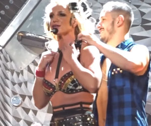 Britney Spears' Bra Comes Undone During Performance -- Watch the Embarrassing Wardrobe Malfunction!