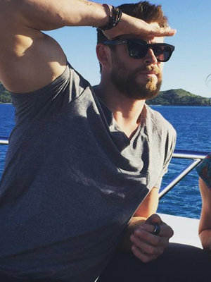 Chris Hemsworth Shuts Down Divorce Rumors With Funny Photo