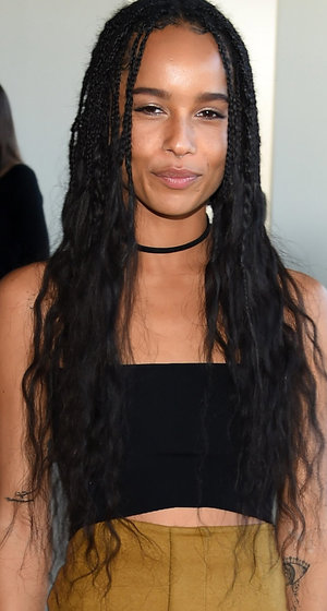 Zoe Kravitz is Unrecognizable With New Platinum Blonde 'Do -- Like The Look?!