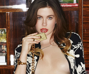 Ireland Baldwin Goes Topless for Coffee Table Book