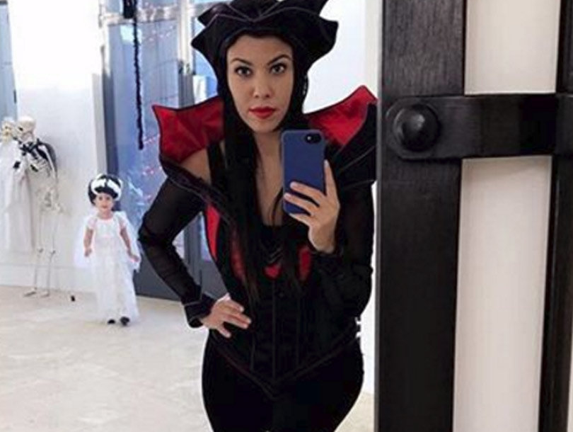 Kourtney Kardashian Throws Halloween Bash -- See Penelope's Costume!