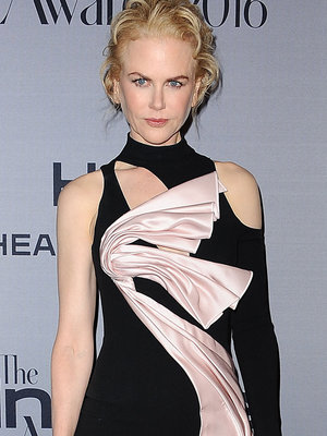 Nicole Kidman Rocks One Wacky Asymmetrical Dress to InStyle Awards