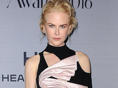 Nicole Kidman Rocks One Wacky Asymmetrical Dress to InStyle Awards