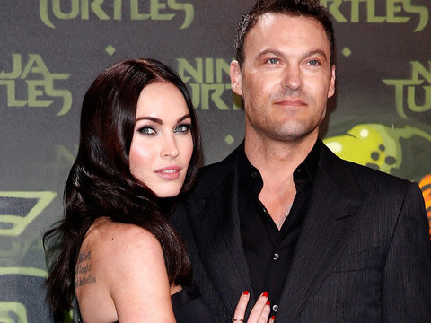 Megan Fox Shares First Photo of Two-Month-Old Son Journey