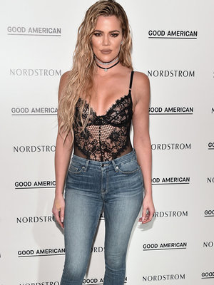 "Khloe Says Feeling ""Fat Shamed"" Inspired Denim Line"